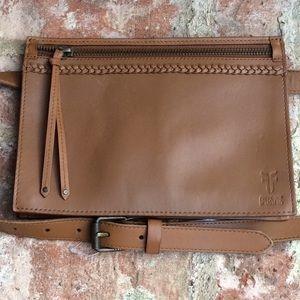 NWT Frye 2 in 1 Belt Bag/ Clutch, Belt Size L